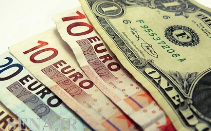 نرخ یورو کاهش یافت/ دلار ۴۲۲۷۰ ریال شد