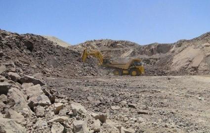 افزایش تولید سنگ آهن دانه بندی شده در معدن میشدوان بافق