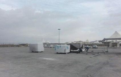 اعتراض کامیوندارها دامن نمایشگاه بین المللی سنگ نیمور را گرفت
