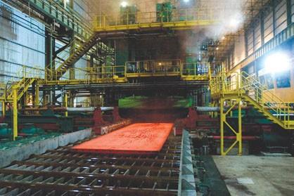 کاهش قیمت شمش فولاد