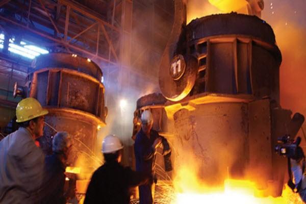 کاهش مصرف جهانی فولاد در سال گذشته میلادی