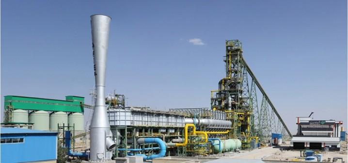 سوخت کارخانه فولاد اسفنجی میانه گاز طبیعی است