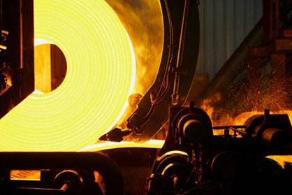 کاهش تولید فولاد در امریکا
