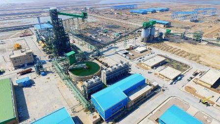 کارخانه تولید آهن اسفنجی فولاد میانه افتتاح می شود