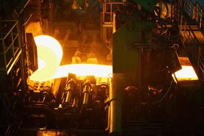 تولید فولاد ژاپن رو به بالا