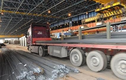 کاهش ۶۰ درصدی دپو محصولات تولیدی فولاد خراسان