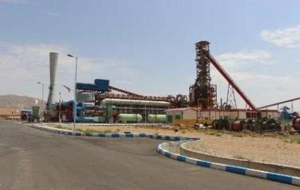۷۴ هزار تن آهن اسفنجی در کارخانه فولاد چهارمحال و بختیاری تولید شد