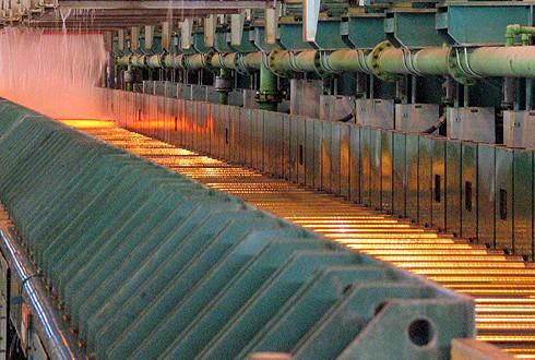 رشد تولید فولاد در امریکا