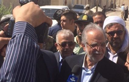 بازدید مدیر عامل چادرملو از بازسازی و نوسازی مناطق زلزله زده کرمانشاه