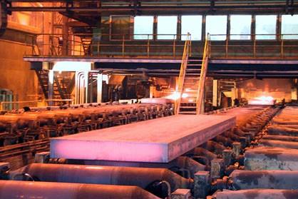 فولادخوزستان در تولید شمش فولاد و صادرات رکورد زد