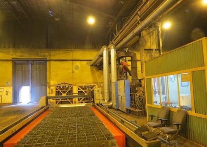 بکارگیری سیستم ایرانی جمع آوری دود (فیوم) دستگاه برش CNC در تعمیرگاه مرکزی