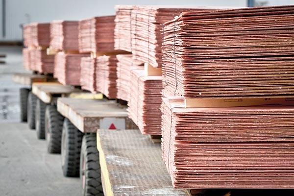 تالار محصولات صنعتی و معدنی میزبان عرضه مس و فولاد