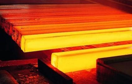 تولید شمش فولاد در سیرجان