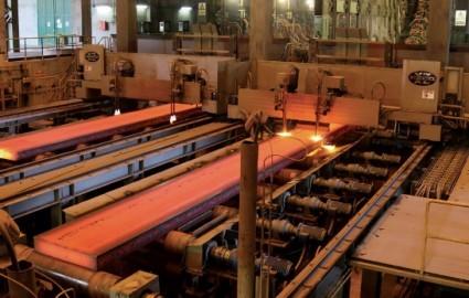 دستیابی به بالاترین میزان تولید فولاد خام