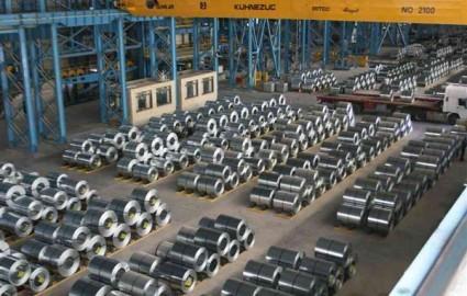 برنامه تولید ماهانه ۱۰ هزار تن ورق خودرو در ورق خودرو چهارمحال