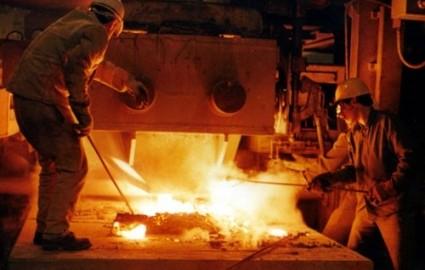 پیشرفت ۸۵ درصدی تولید ریل ملی در ذوب آهن