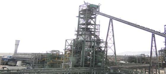 آغاز راه اندازی گرم کارخانه آهن اسفنجی فولاد سبزوار
