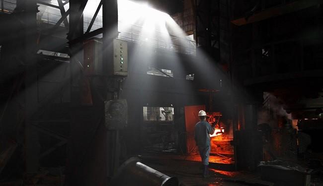 سقوط رشد صنعت فولاد، آهن و زغالسنگ چین