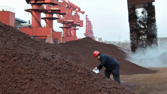 دلیل پیشرفت سنگ آهن تثبیت بهای فولاد چین است