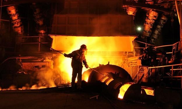 کاهش تولید فولاد چین در ماه های ژانویه و فوریه