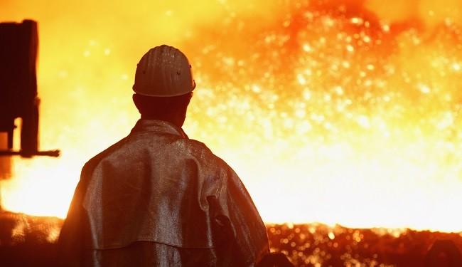 افزایش میزان و تنوع تولید در ذوب آهن اصفهان