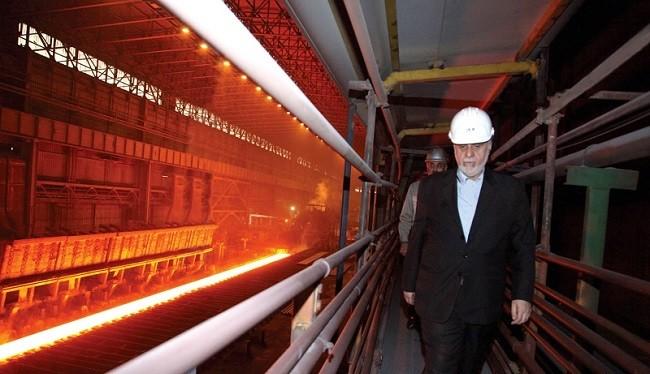 کارخانه های جدید فولاد در منطقه ویژه خلیج فارس در سال 95 راه اندازی شد