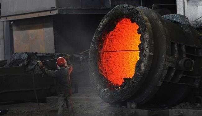 عبور تولید فولاد ایران از 9 میلیون تن در 7 ماه