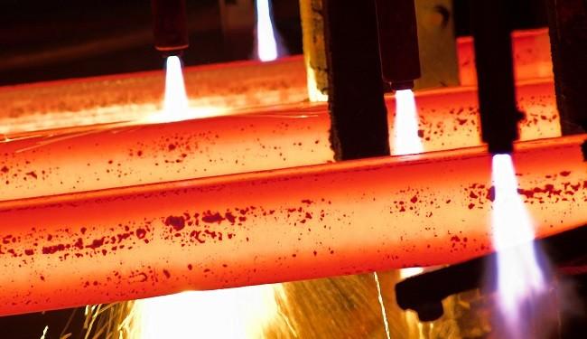 تراز فولاد دو غول بزرگ جهان
