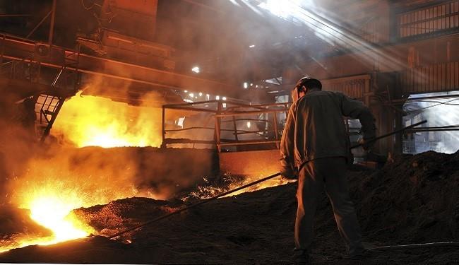 کاهش نزدیک به یک درصدی تولید فولاد ایران در 11 ماه 2015