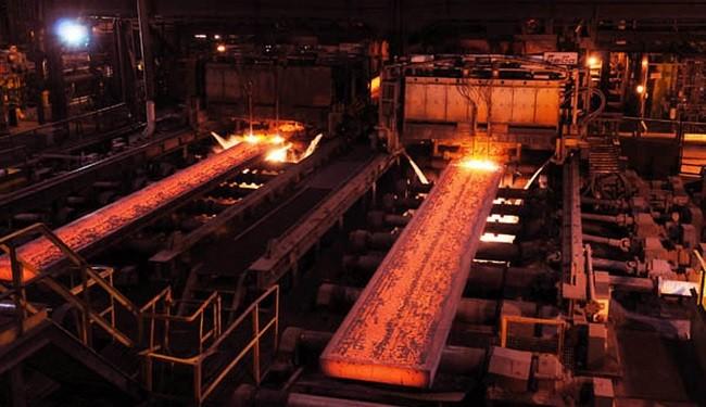 ظرفیت تولید فولاد کاوه جنوب به دو میلیون 400 هزار تن افزایش می یابد
