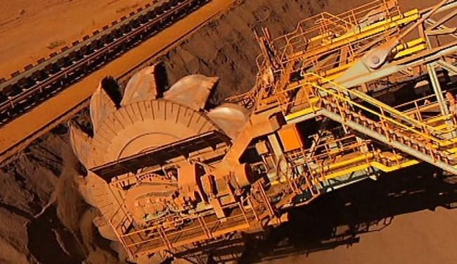 بازار سنگ آهن و قیمت بالای 55 دلار