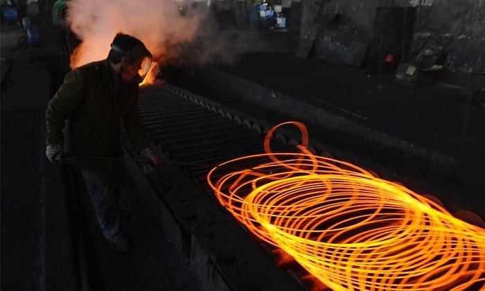 ظرفیت تولید فولاد چین کم شده ولی تولید رو به بالاست