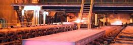 فروش ۵۰ درصد اسلب تولید شده فولاد هرمزگان در فروردین ۹۷