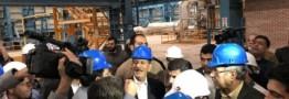 طرح نورد ۶۰۰ هزار تنی فولاد کاوه اروند در خرمشهر به بهره برداری رسید