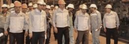 تأکید مدیرعامل فولاد مبارکه بر تحقق اهداف شرکت و تولید حداکثری