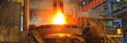 ثبت رکورد جدید تولید فولاد خام در واحد دوم فولادسازی