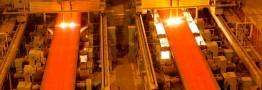 بهبود جزیی تولید فولاد در آلمان