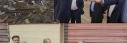 بازدید مدیرعامل بانک شهر از مناطق زلزله زده غرب کشور