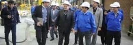 """وزیر صنعت، معدن و تجارت از سالن تولید محصولات """"ایکاپ"""" بازدید کرد"""