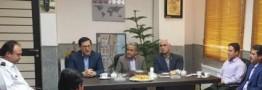 نشست مدیرعامل فولاد امیرکبیر با مدیرعامل سازمان آتشنشانی کاشان برگزار شد