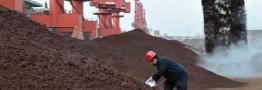 واردات سنگ آهن چین به حداکثر رسید