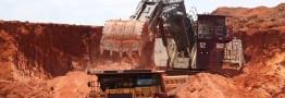 قیمت سنگ آهن کاهش یافت