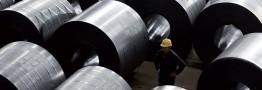 کاهش تولید فولاد نورد روسیه