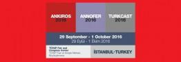 نمایشگاه آنکیروس - آنوفر - ترک کست 2016 | استانبول ترکیه - نمایشگاه تویاپ