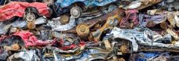 کاهش قیمت آهن قراضه در پی رکود بازار فولاد