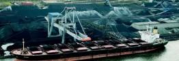 زیادی سنگ آهن در بنادر چین