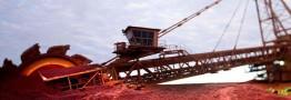 افت ۵/ ۸ درصدی سنگآهن در یک ماه