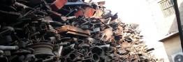 ۵۰۰هزار تن قراضه آهن در مبدا از بین میرود
