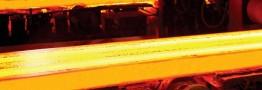 توليد شمش هاي صادراتي با مقطع ۱۳۰×۱۳۰ ميليمتر در ذوب آهن اصفهان
