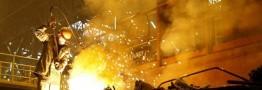 تولید فولاد چین در کف 1 سال اخیر